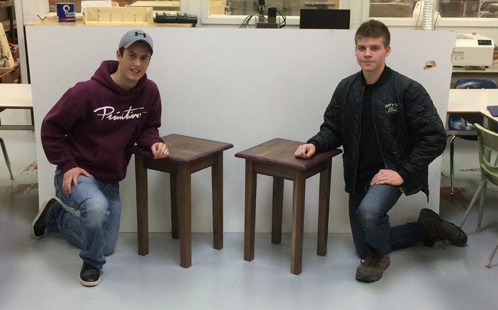 Students Craft Donation for MSBA Charity Raffle
