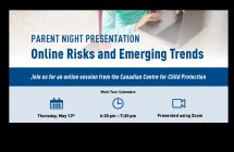 Parent Night Presentation - Online Risks and Emerging Trends